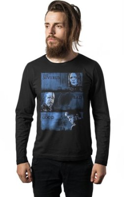 Camiseta Manga Longa Harry Potter - Valdemort