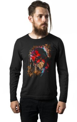 Camiseta Manga Longa Demolidor