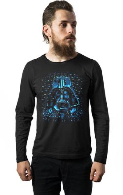 Camiseta Manga Longa Star Wars - Darth Vader