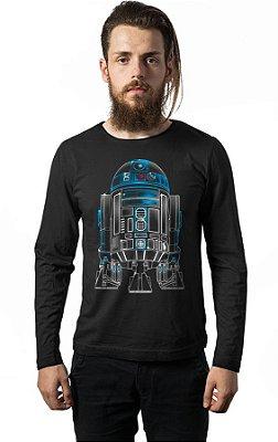 Camiseta Manga Longa Star Wars - R2-D2