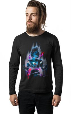 Camiseta Manga Longa Dragon Ball Z