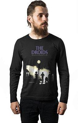 Camiseta Manga Longa Star Wars - The Droids