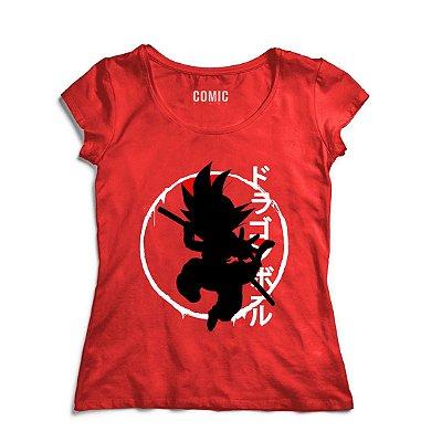 Camiseta Feminina Dragon Ball
