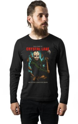 Camiseta Manga Longa Jason