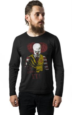 Camiseta Manga Longa I'm Lovin It