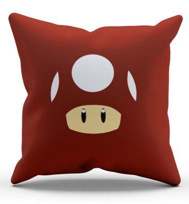 Almofada Mario Toad 45x45