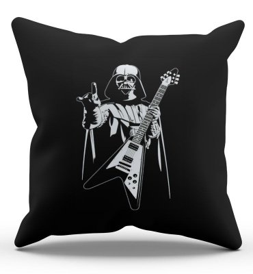 Almofada Darth Vader Rock Roll 45x45