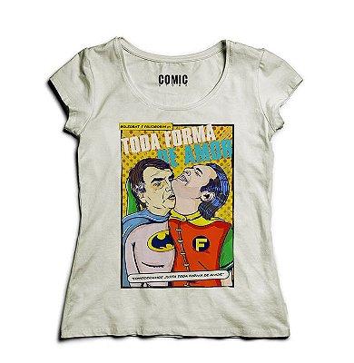 Camiseta Feminina Toda Forma de Amor