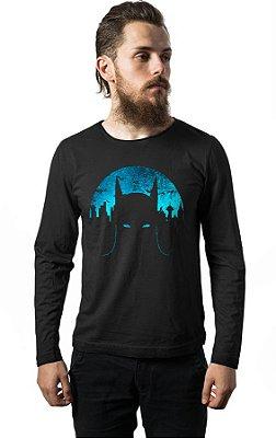 Camiseta Manga Longa Batman Dark