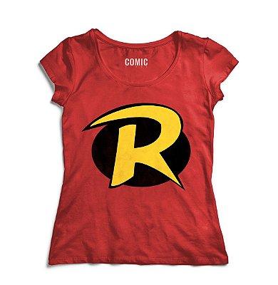 Camiseta Feminina Robin
