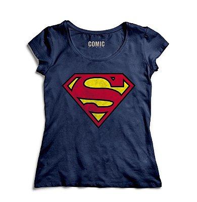 Camiseta Feminina SuperMan