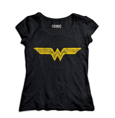 Camiseta Feminina Mulher Maravilha