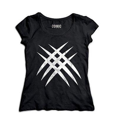 Camiseta Feminina Wolverine