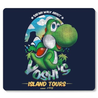 Mouse Pad Yoshi's Island Tours