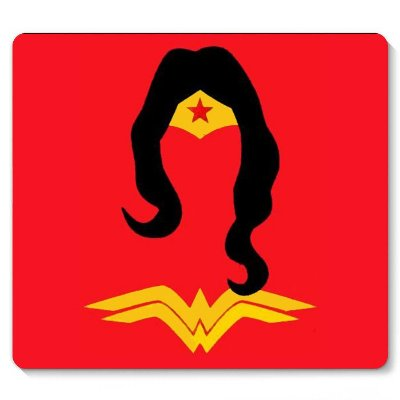 Mouse Pad Mulher Maravilha