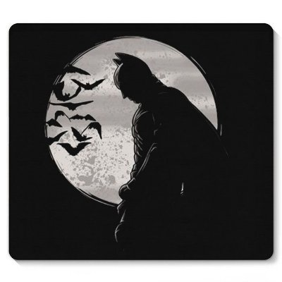 Mouse Pad Batman Dark Light