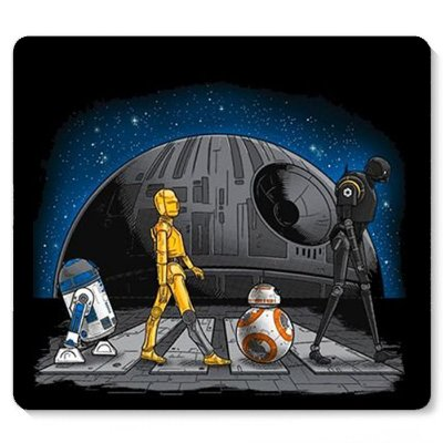 Mouse Pad Star Wars -BB-8 E R2-D2