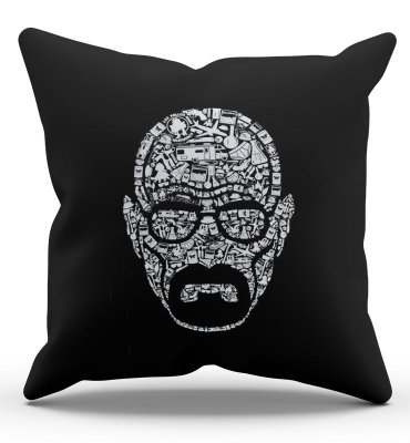 Almofada Breaking Bad - Heisenberg 45x45