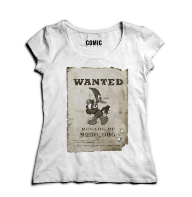 Camiseta Feminina Wanted