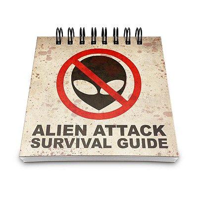 Bloco de Anotações Alien Attack