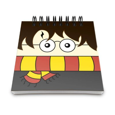 Bloco de Anotações Harry Potter