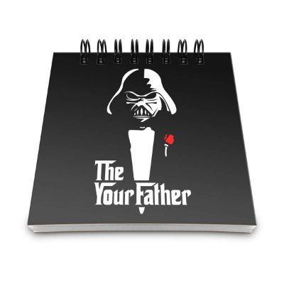 Bloco de Anotações Darth Vader - The your Father