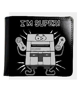 Carteira I'm Super Nintendo
