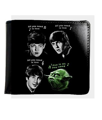 Carteira The Beatles - Yoda