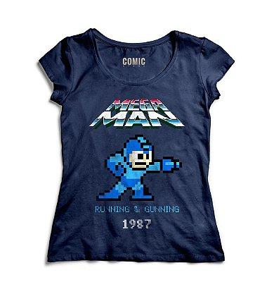Camiseta Feminina Mega Man