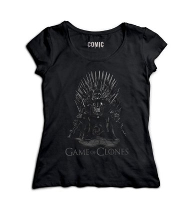 Camiseta Feminina Game of Clones