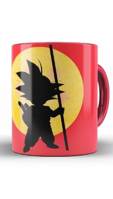 Caneca Dragon Ball Goku