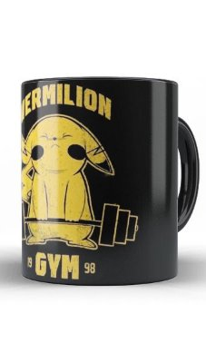 Caneca Pokemon Vermilion Gym