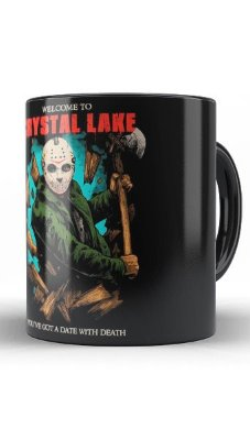 Caneca Jason Crystal Lake