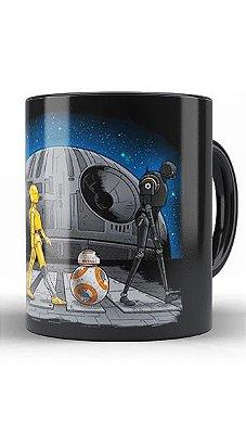 Caneca Star Wars - R2-D2 e BB-8