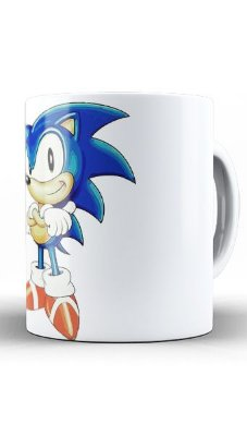 Caneca Sonic - Game