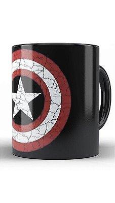 Caneca Capitão America Escudo