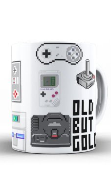 Caneca Old But Gold