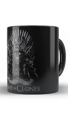 Caneca Game of Clones