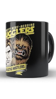 Caneca Star Wars Han Solo Hunstlers
