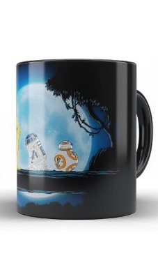 Caneca Star Wars: R2D2 C3PO BB8