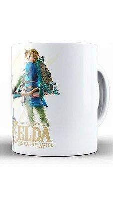 Caneca Legend of Zelda Breath of The Wild