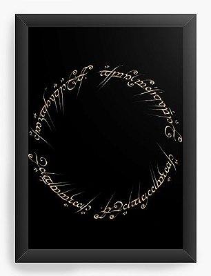 Quadro Decorativo O Senhor dos Anéis