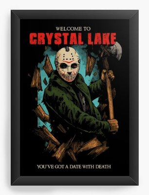 Quadro Decorativo Jason Crystal Lake