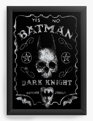 Quadro Decorativo Batman Dark Knight
