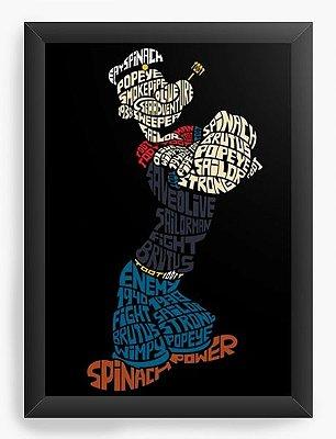 Quadro Decorativo Marinheiro Popeye