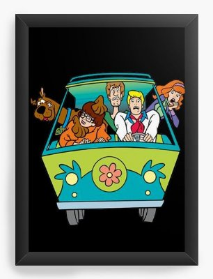 Quadro Decorativo Scooby Doo