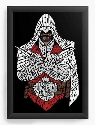 Quadro Decorativo Assassin's Creed