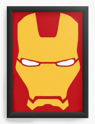 Quadro Decorativo Iron Men