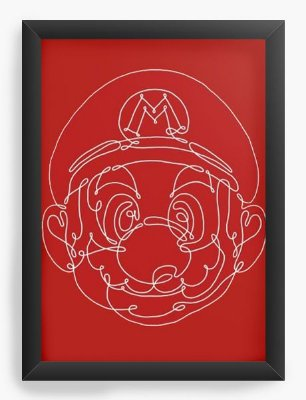 Quadro Decorativo Super Mario Bros