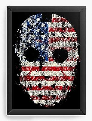 Quadro Decorativo Jason American